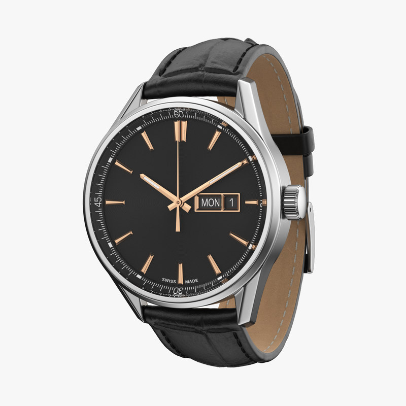classic watch 3D