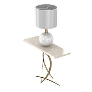 3D table lamp bishop miro model