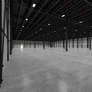 base warehouse interor model
