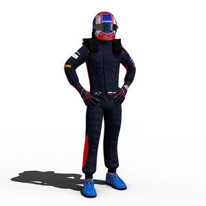 3D pierre gasly e model