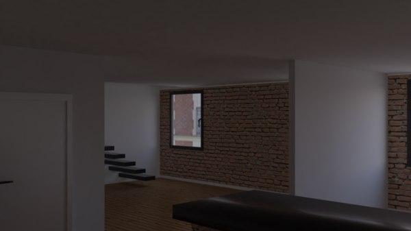 3D apartement