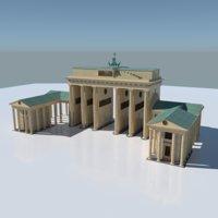 3D brandenburg berlin