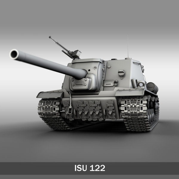maya isu-122 - soviet heavy
