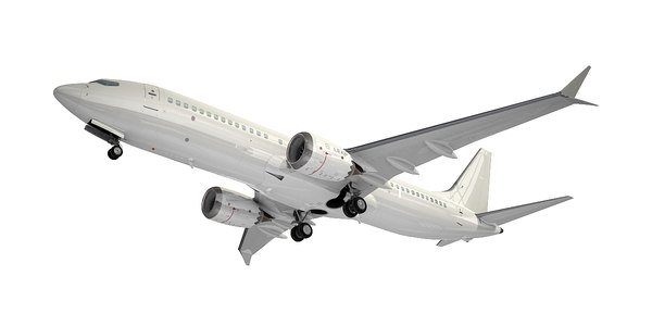 3D boeing plane 8