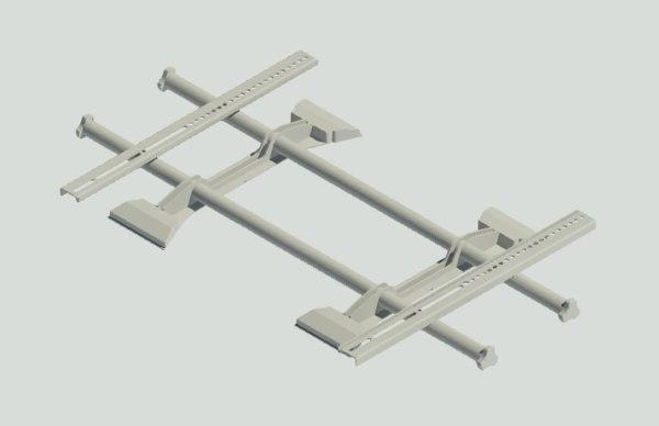ltm1u-w - display mount 3D model