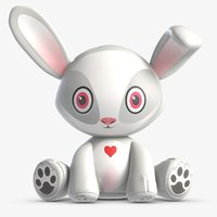toy jack rabbit 3D