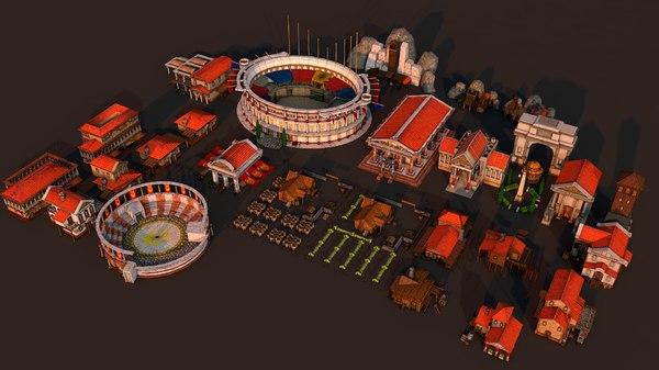 rome city 3D