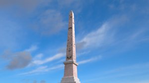 egyptian obelisk egypt 3D model
