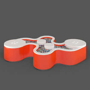 3D lego table
