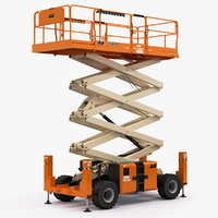 scissor lift jlg 430lrt 3D model