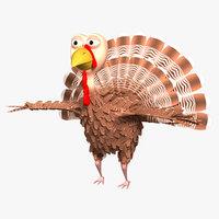 turkey 3d max