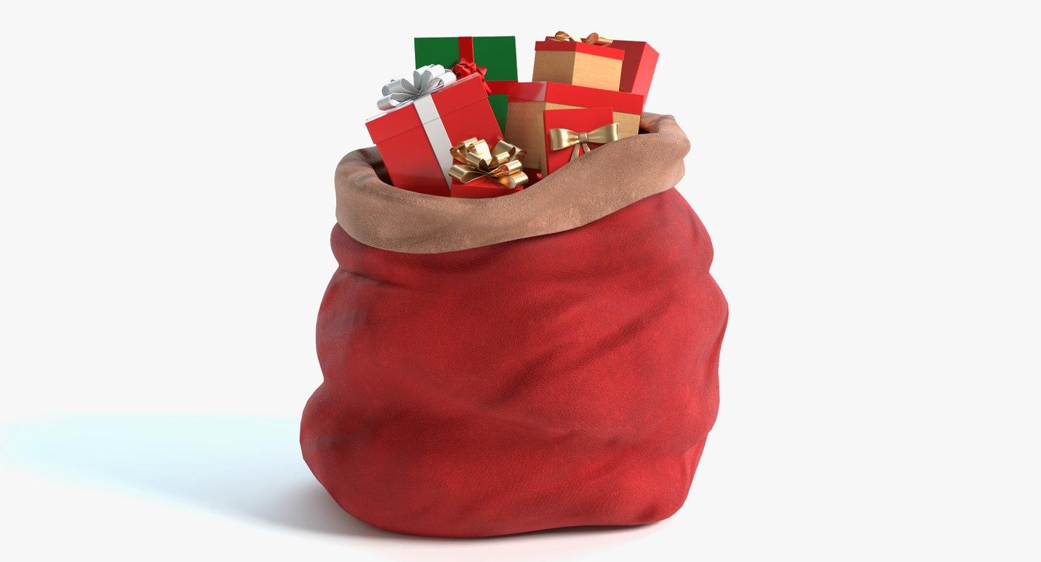 santa s bag 3D