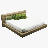 3D bed photorealistic realistic