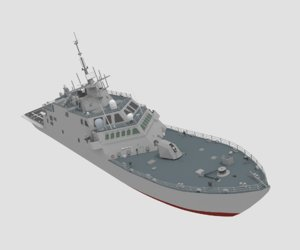 3D model lcs freedom
