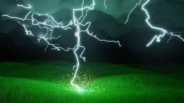 3D scene lightning model