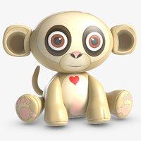 toy marcy monkey 3D model