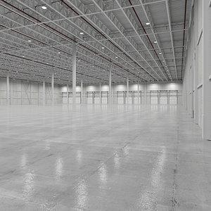 base warehouse interor 3D model