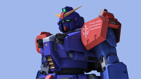 gundam blue destiny model