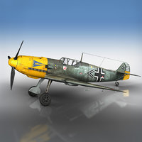 messerschmitt - bf-109 model