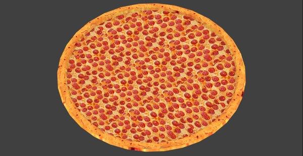 3D pizza