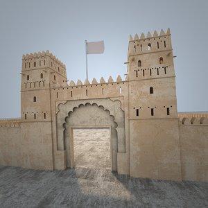 3D castle designed classic