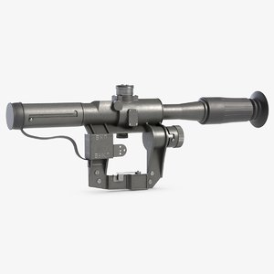 3D dragunov svd riflescope optics