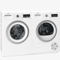 Bosch Washing And Dryer Machine