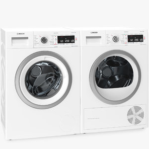 bosch washing dryer machine model