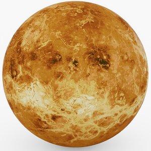 3D venus planet