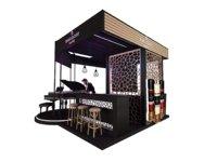 kiosk booth model