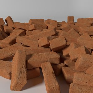brick clay 3D model