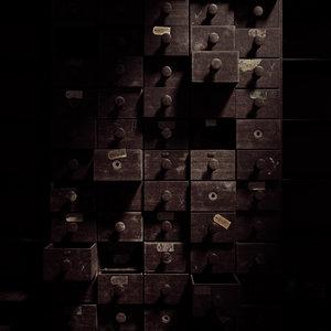 3D shelves abandoned