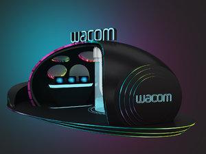 wacom booth 3D