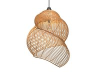 Wicker Lamp
