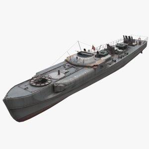3D schnellboot s-100