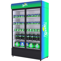 3D fridge sprite beverage model