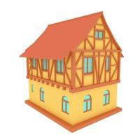 MEDIEVEL HOUSE 0 CARTOON STYLE(1)