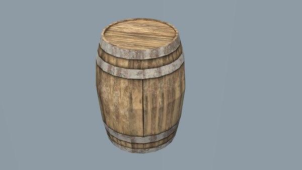 3D - barrel model