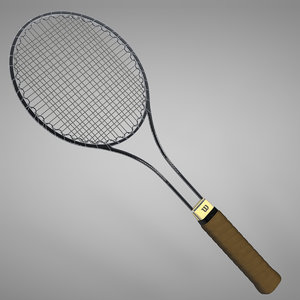 3D wilson t2000 jimmy connors