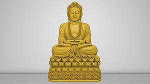 3D buddha u lai artcam