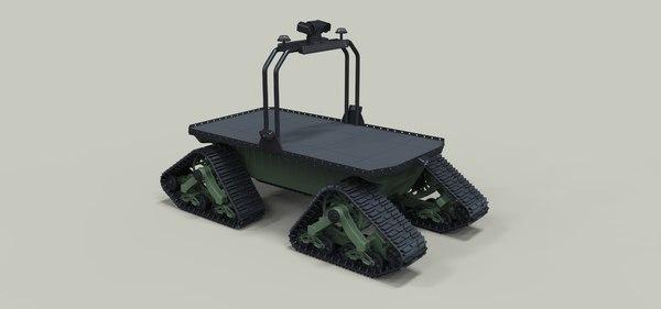 robot robo track 3D model