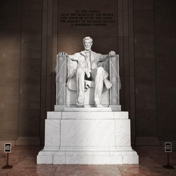 memorial statue 3D model