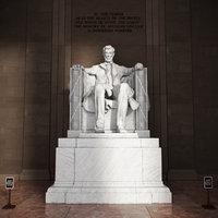 Lincoln Memorial Statue(1)