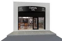 optician store 3D