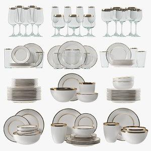 3D glasses plates