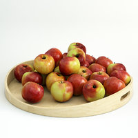 3D model apples