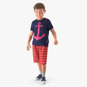 teenage boy standing pose model