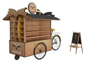 book bike design 3D model
