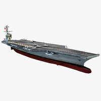 Aircraft Carrier USS John F. Kennedy CVN-79