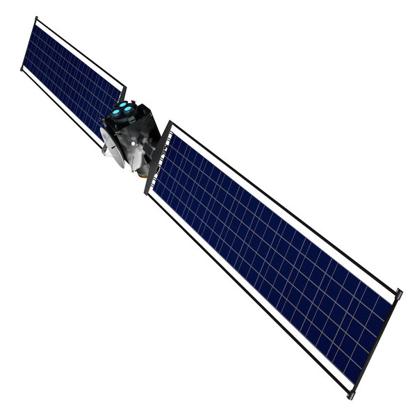 3D model caesar comet probe